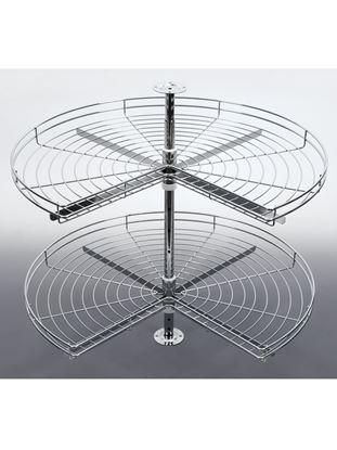 Obrázok pre výrobcu Karusel 3/4 600 mm sada matný chróm