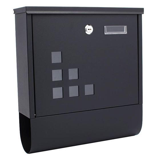 Obrázok Poštová schránka 31 x 9,5 x 34 cm, štvorcová, XL-TOOLS2.SKN7