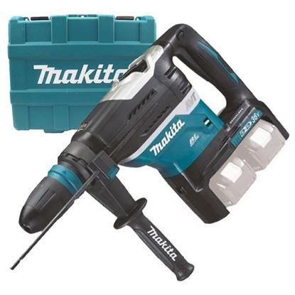 Obrázok pre výrobcu Makita DHR400ZKU aku. kombi kladivo SDS max