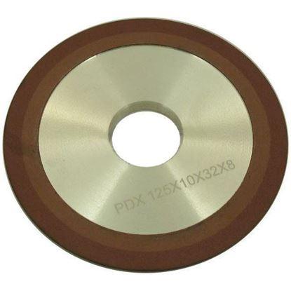 Obrázok pre výrobcu Brúsny diamantový kotúč na ostrenie vídiových píl 150 x 10 x 32 mm, XL-TOOLS 2.tpw150