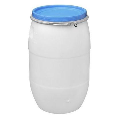 Obrázok pre výrobcu Sud plastový 120 l mliečny s obručou FK13001 254403