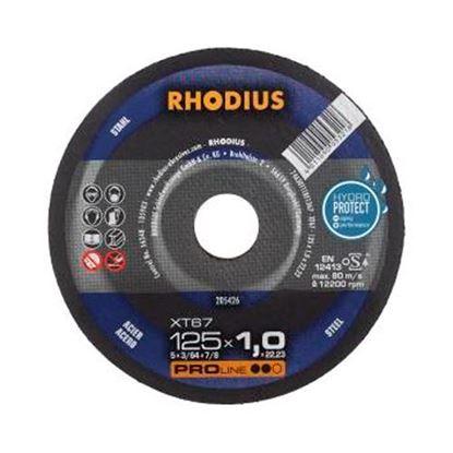 Obrázok pre výrobcu RHODIUS XT67 rezný kotúč na kov 125 x 1 mm 205426
