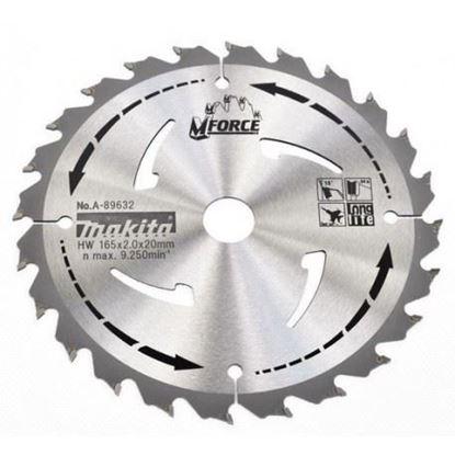Obrázok pre výrobcu Makita A-89632 Pilový kotúč 165 x 20 mm 24 zubov