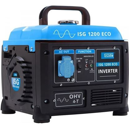 Obrázok pre výrobcu Güde ISG 1200 ECO elektrocentrála invertorová 40657