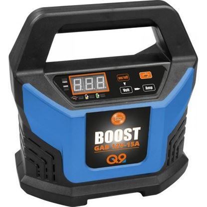 Obrázok pre výrobcu Güde GAB 12V-15A-BOOST Automatická nabíjačka batérií 5143