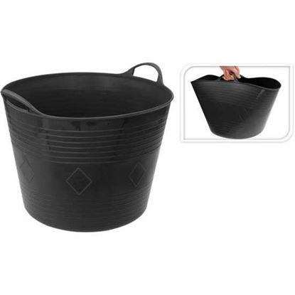 Obrázok pre výrobcu Nádoba stavebná čierna flexi