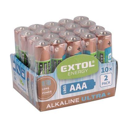Obrázok pre výrobcu EXTOL 42012 Energy Alkalická tužková batéria Ultra + AAA 1,5 V 1ks