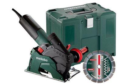 Obrázok pre výrobcu Metabo W 12-125 HD SET CED uhlová brúska s odsávaním 125 mm 600408500