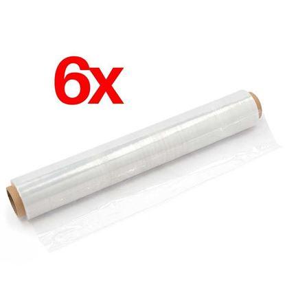 Obrázok pre výrobcu Zmršťovacia streč fólia rolka 50 cm, 23 um 6 ks