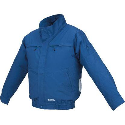 Obrázok pre výrobcu MAKITA DFJ304ZXL chladiaca bunda s ventilátorom bez aku.