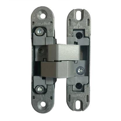 Obrázok pre výrobcu ANSELMI neviditeľný záves 506.014 na bezfalcové dvere sivý, celokovový