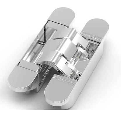 Obrázok pre výrobcu ANSELMI Záves 506.039 pre bezfalcové dvere, chróm, celokovový