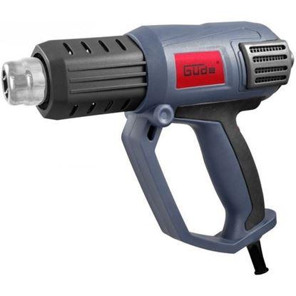 Obrázok pre výrobcu Güde pištol teplovzdušná HLG 650-2000 LCD 58121