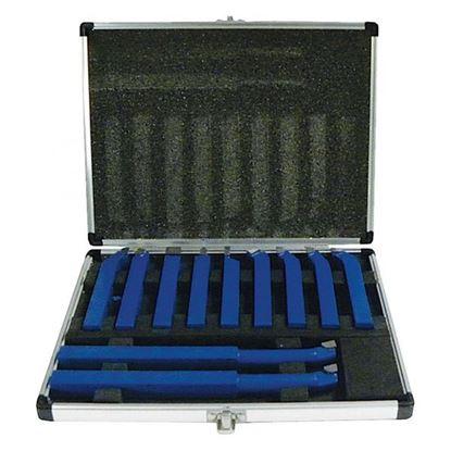 Obrázok pre výrobcu Geko Sada sústružníckych nožov 11 dielna 12 x 12 mm G01242