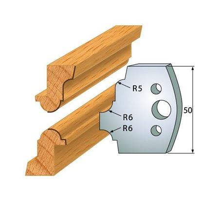 Obrázok pre výrobcu Profilový nôž 50 mm F026-542 + obmedzovač F027-542
