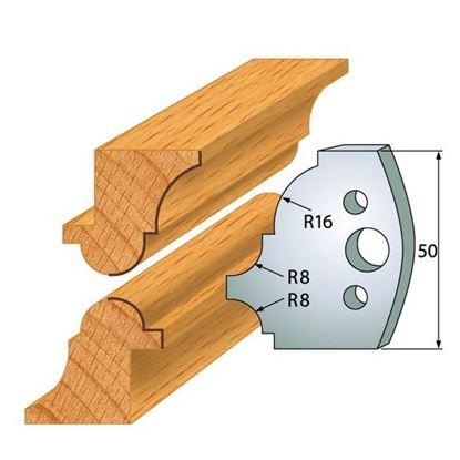 Obrázok pre výrobcu Profilový nôž 50 mm F026-541 + obmedzovač F027-541