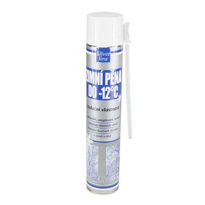 Obrázok pre výrobcu Polyuretánová pena hadičková zimná SILVER 750ml (-12 °C)