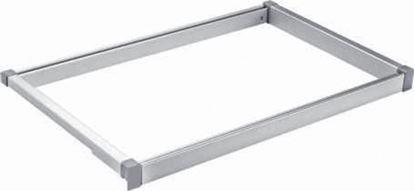 Obrázok pre výrobcu IDEAL Univerzálny rám s tlmeným dovrením 700 - 760 mm elox 2005002120