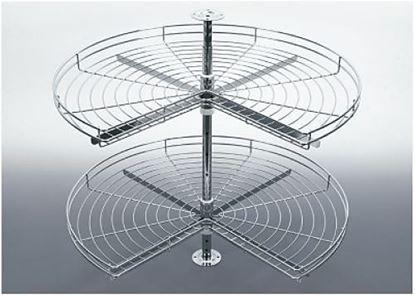 Obrázok pre výrobcu Karusel 3/4 750 mm sada chróm