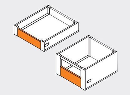 Obrázok pre výrobcu LINOS-box čelný panel zásuvky
