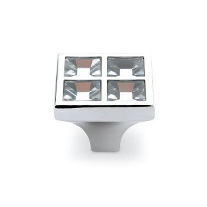 Obrázok pre výrobcu DC úchytka CD3022-G2-K knopok kryštál