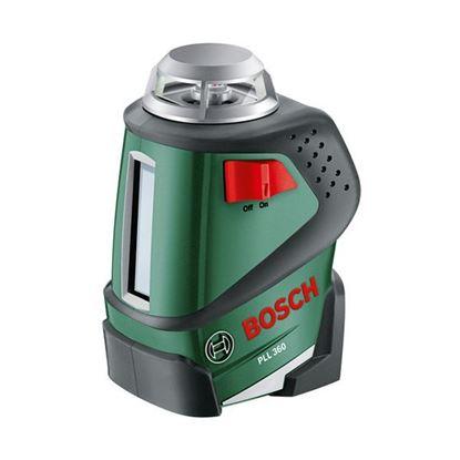 Obrázok pre výrobcu BOSCH Samonivelacný 360 st. líniový laser PLL 360