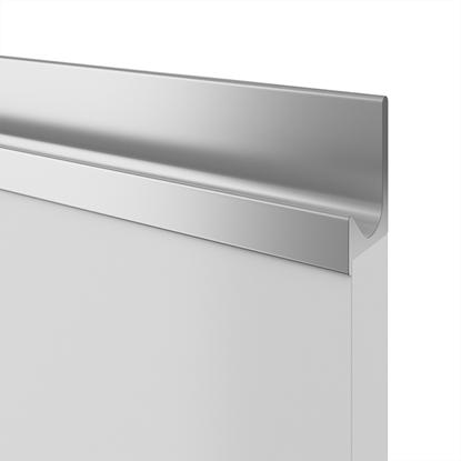 Obrázok pre výrobcu Madlo zafrézovateľné UKW-5 biela 9003 úchytka na mieru