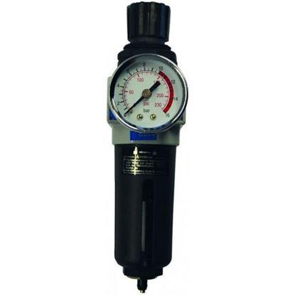 Obrázok pre výrobcu Odlučovač bezolejový s redukčným ventilom GUDE 41082