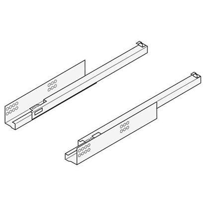 Obrázok pre výrobcu Blum 550H3500B / TANDEM BLUMOTION, čiastočný výsuv pre spojku Ľ+P