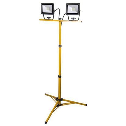 Obrázok pre výrobcu Reflektor SMD LED 2 x 30W IP65