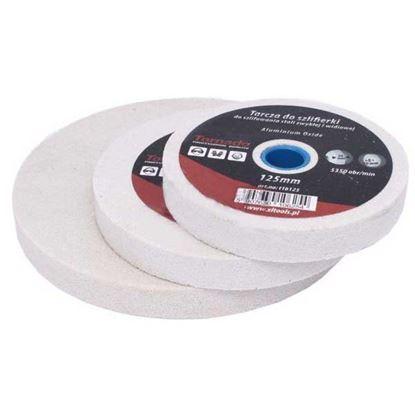 Obrázok pre výrobcu Kotúč brúsny do stolovej brúsky - biely XL-TOOLS