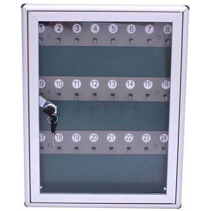Obrázok pre výrobcu XL-TOOLS Skrinka hliníková na kľúče pre 24 kľúčov 2.SKS24