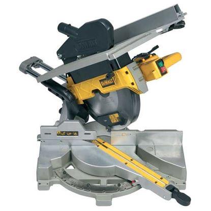 Obrázok pre výrobcu DEWALT Posuvná pokosová pila 305 mm s horným stolom D27112