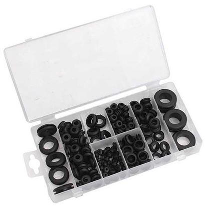 Obrázok pre výrobcu Sada gumových tesnení, 180-dielna, XL-TOOLS