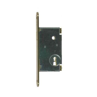 Obrázok pre výrobcu Zámok na posuvné dvere AGB nikel 701.50.06