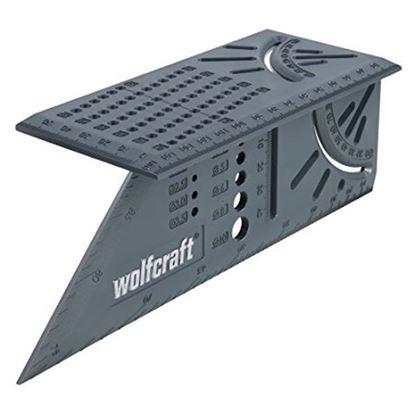 Obrázok pre výrobcu WOLFCRAFT 3D uholník rohový 5208000