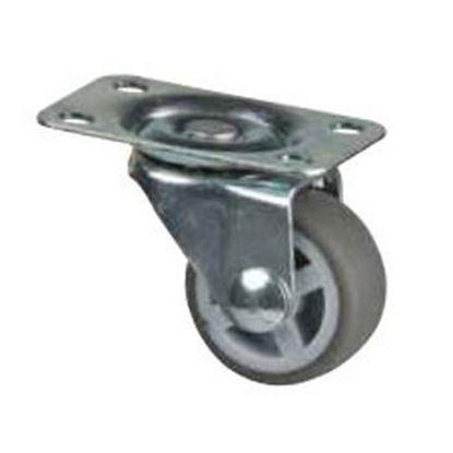 Obrázok pre výrobcu Koliesko 30 mm - šedé, otočné 285162