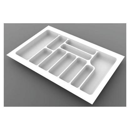 Obrázok pre výrobcu Príborník STARAX biely