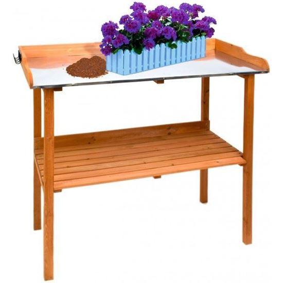 Obrázok DEMA Záhradnícky stolík PT 103x48x96 cm 47031D