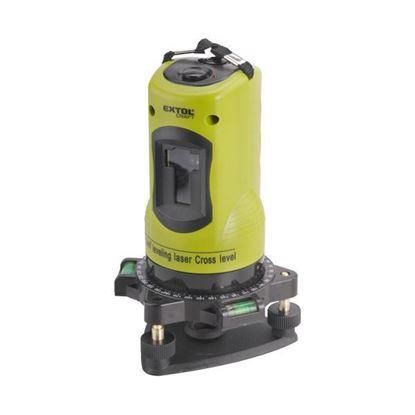 Obrázok pre výrobcu EXTOL Vodováha laserová krížová samonivelačná 1H1V  34900