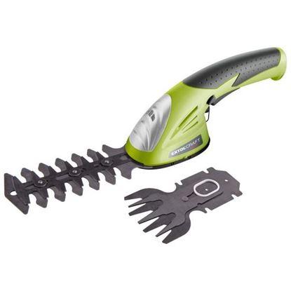 Obrázok pre výrobcu EXTOL aku. nožnice na trávu a konáre 3,6V 415120