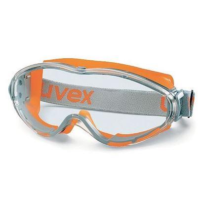Obrázok pre výrobcu Uvex ULTRASONIC Uzavrené okuliare, zorník číry, oranžovo-šedé 103-9302245