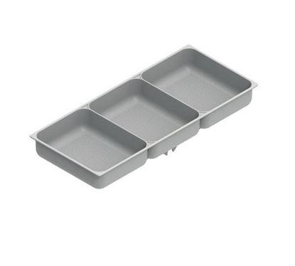 Obrázok pre výrobcu HETICH miska na doplnky, sivá 42100314