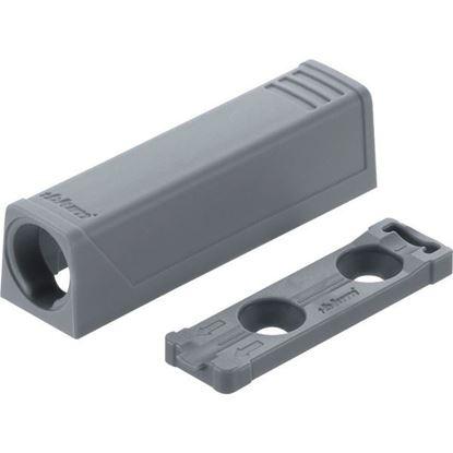 Obrázok pre výrobcu BLUM 956.1201 TIP-ON adaptér krátky sivý / biely