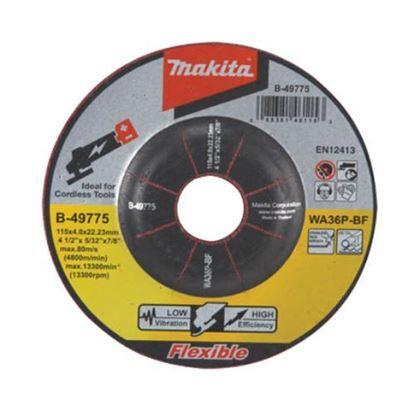 Obrázok pre výrobcu Makita B-49775 Brúsny kotúč na oceľ a nehrdzavejúcu oceľ Ø115 x 4,0 x 22,0