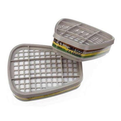 Obrázok pre výrobcu 3M Ochranný uhlíkový filter 6059 ABEK1 2ks
