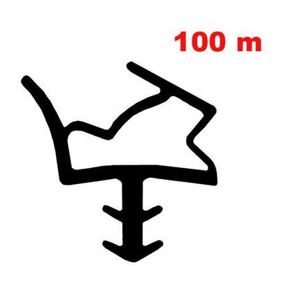 Obrázok pre výrobcu Tesnenie dverové DEVENTER S6612 bal. 100 m