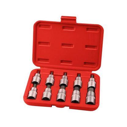 Obrázok pre výrobcu Extol sada nádstavcov 10 dl. HEX 3-17 mm 8818120