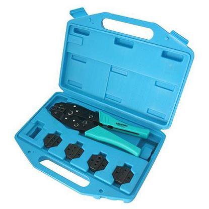 Obrázok pre výrobcu Sada klieští WHIRLPOWER 177-0105 krimpovacie, 0,5-6 mm2 / 229551