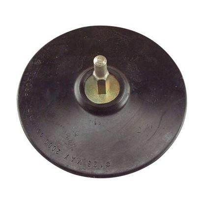 Obrázok pre výrobcu EXTOL Tanier unášací so suchým zipsom so stopkou 125 mm 108400